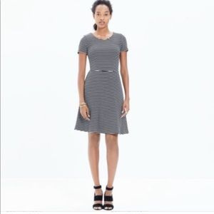 Madewell Gallerist Striped Dress